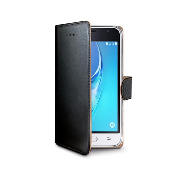 Celly™ Samsung Galaxy J1 2016 Plånboksfodral Svart