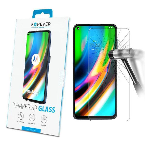 Forever™ Skärmskydd till Motorola Moto G9 Plus  - Härdat Glas Transparent