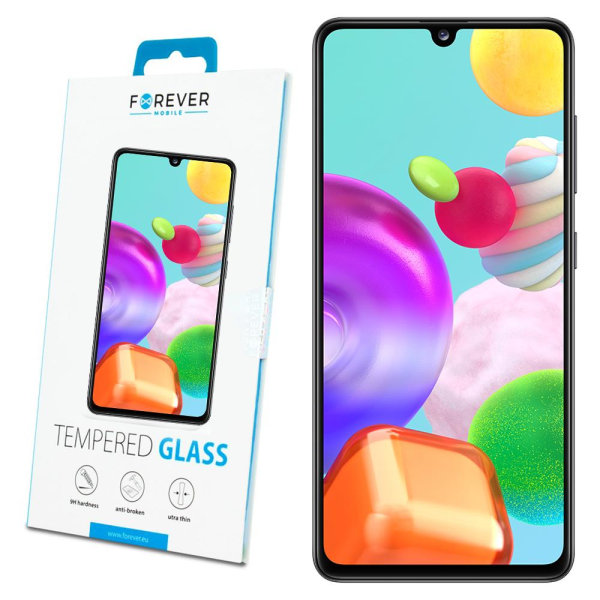 Forever™ Skärmskydd till Samsung Galaxy A41 - Härdat Glas Transparent