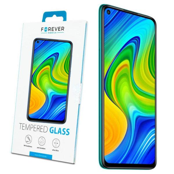 Forever™ Skärmskydd till Xiaomi Redmi Note 9  - Härdat Glas Transparent