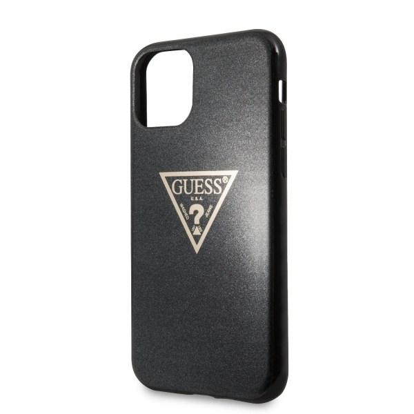 Guess™ iPhone 11 Pro Max Skal Solid Glitter - Svart Svart