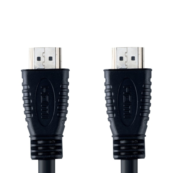HDMI-kabel 1 Meter 4K-Stöd 3D-stöd Svart