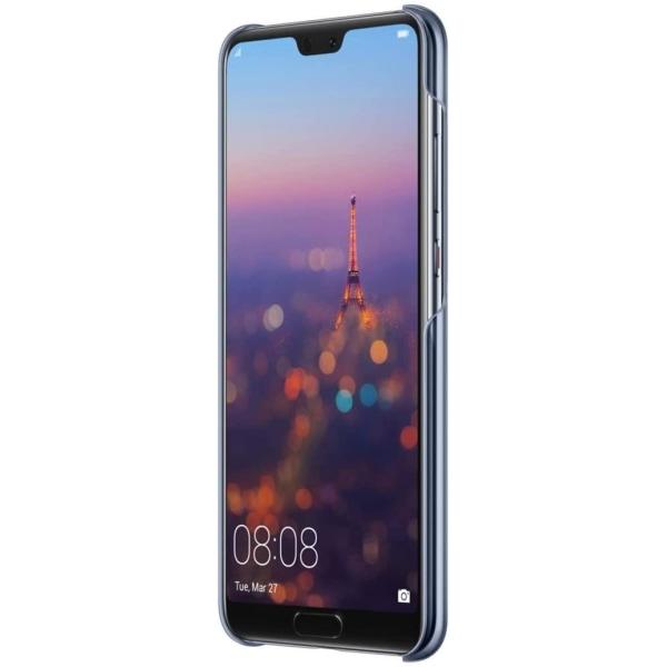 Huawei P20 Color Case Original Skal - Mörkblå Transparent