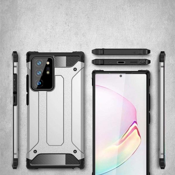 Hybrid Armor Skal till Samsung Galaxy Note 20 Ultra - Blå Blå