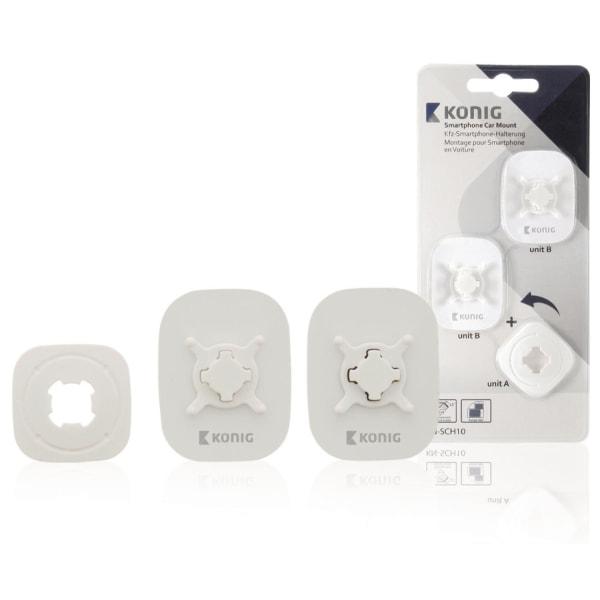 König™ Bilhållare till mobiltelefon 360 ° Svart