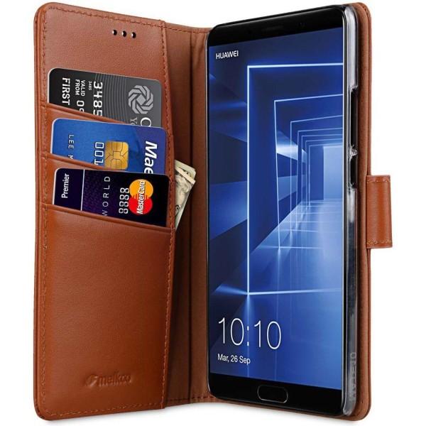 Melkco™ Wallet Huawei Mate 20 Pro Plånboksfodral - Brun Brun