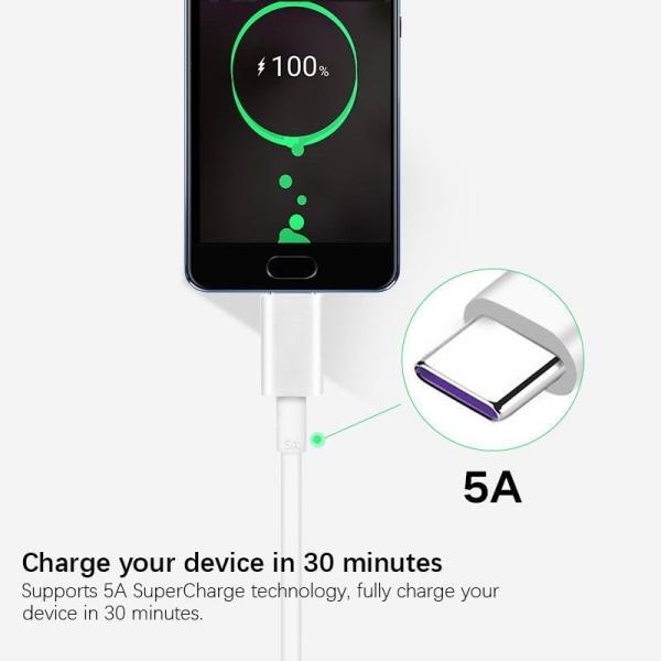 Original Huawei Mate 20 Pro Laddare SuperCharge 5A 22,5W
