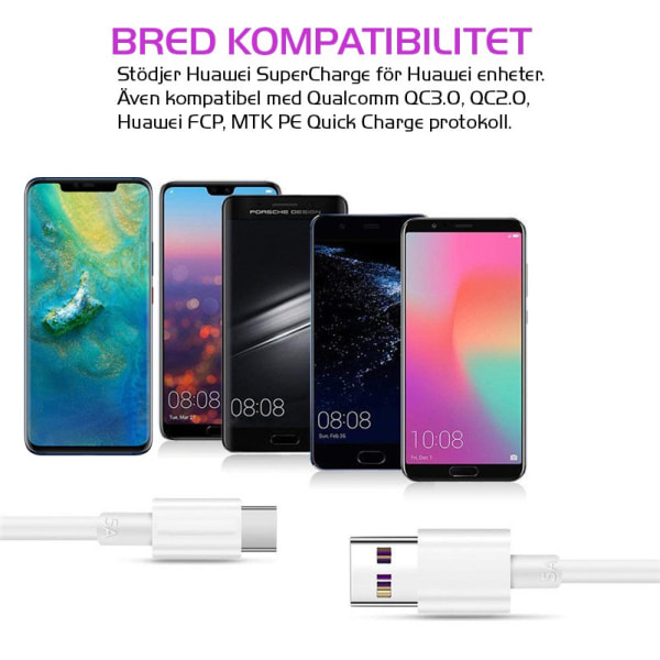 Original Huawei P30 Pro Laddare SuperCharge 5A 22,5W