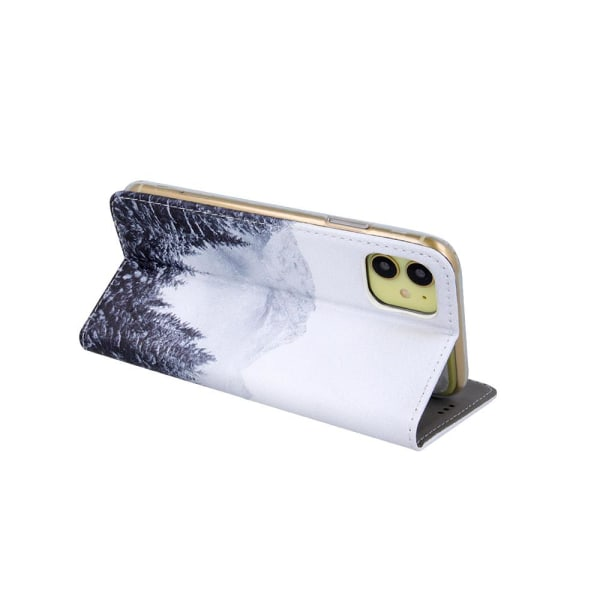 Samsung Galaxy A20E Flip Fodral - Plånboksfodral Forest Svart