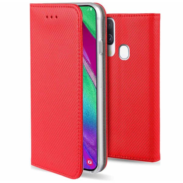 Samsung Galaxy A40 Fodral - Plånboksfodral Röd