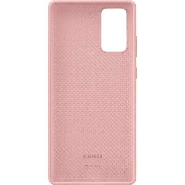Samsung Galaxy Note 20 - Silicone Cover - Mystic Bronze Rosa