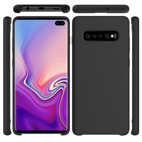 Samsung Galaxy S10 Plus Silicone Case  Svart