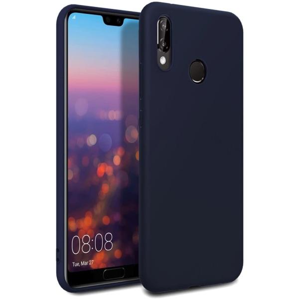 Silikonskal till Huawei Y6 2019 - Mörkblå Blå