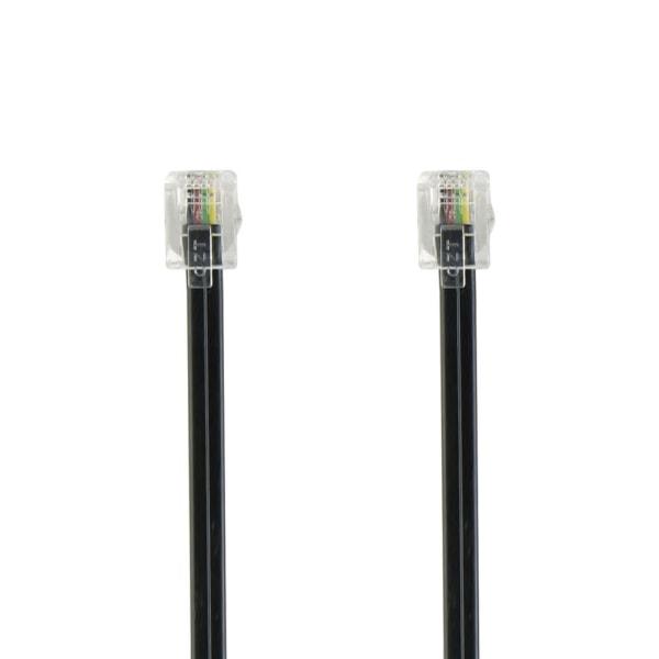 Telecom Cable RJ45 (8P4C) Male - RJ45 (8P4C) Male 3.00 m Black Svart