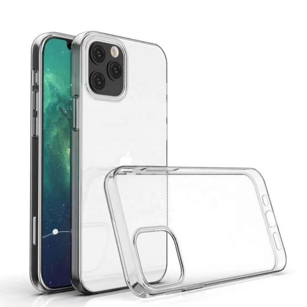 uSync™ iPhone 12/12 Pro Genomskinligt Skal Ultra-Slim Transparent