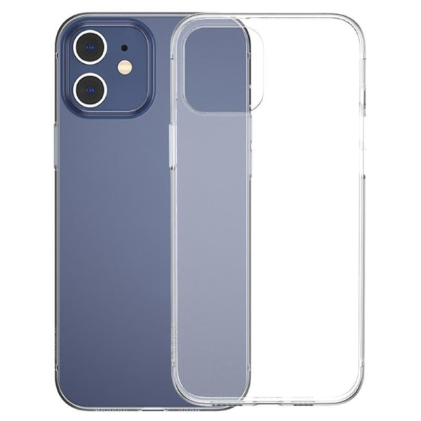 uSync™ iPhone 12 Mini Genomskinligt Skal Ultra-Slim Transparent