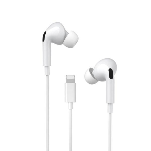 WK™ iPhone Headset Lightning - iPhone 12/11/XR/XS/8/7/6/5 Vit