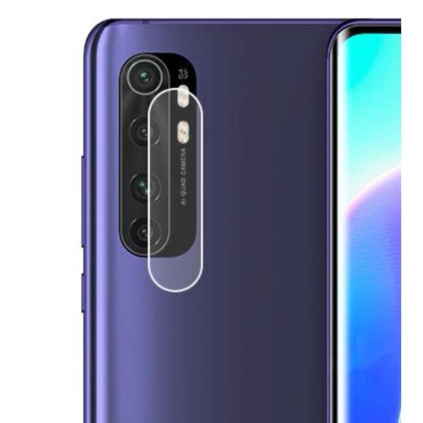 Xiaomi Mi Note 10 Lite Linsskydd Härdat glas för Kamera Transparent