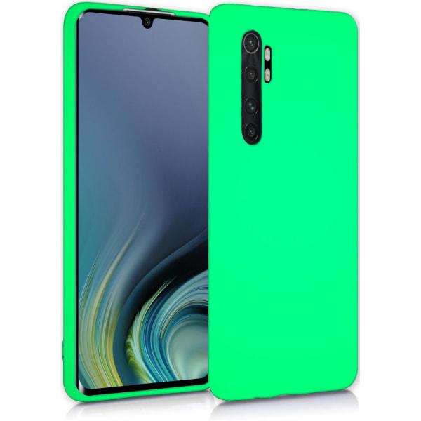 Xiaomi Mi Note 10 Lite Skal Mint Silikonskal  Grön