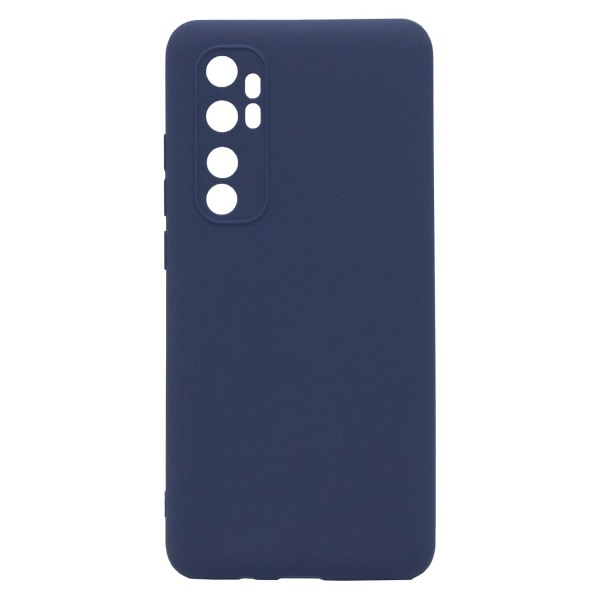 Xiaomi Mi Note 10 Lite Skal Navy Blue Silikonskal  Blå