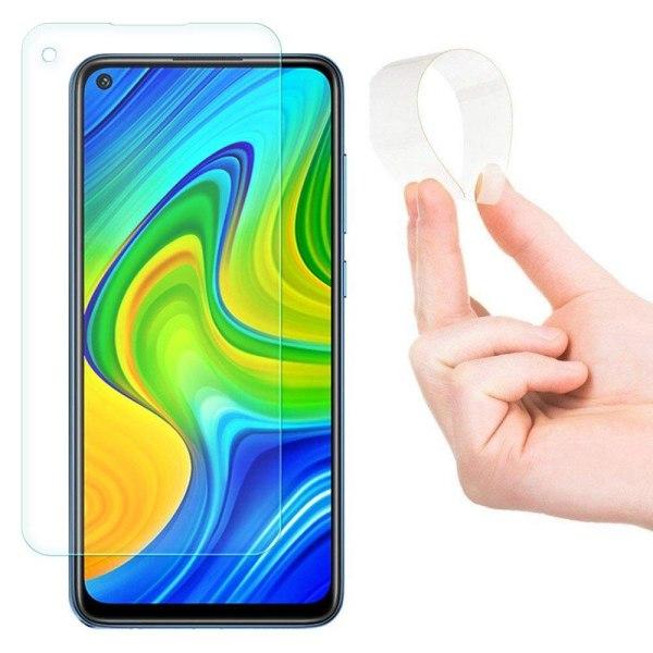 Xiaomi Redmi Note 9 Nano Flex Skärmskydd Transparent