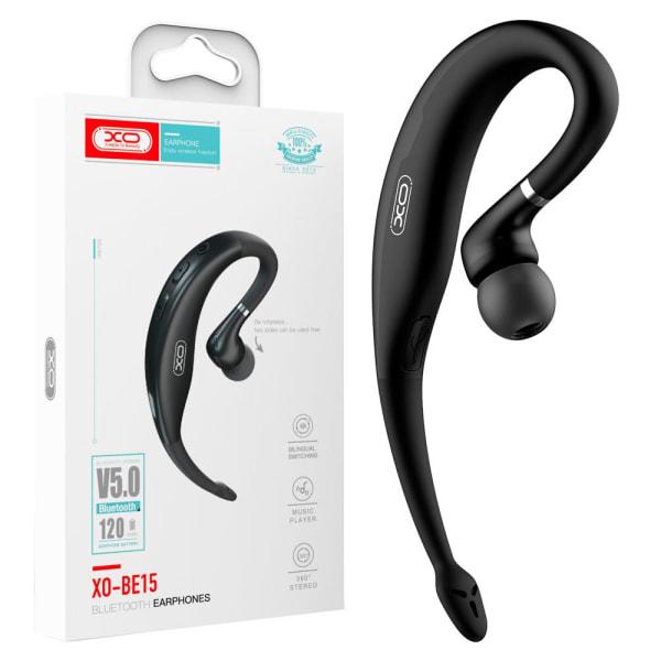 XO™ Slimmat bluetooth 5.0 in-ear headset / Handsfree Vit Svart