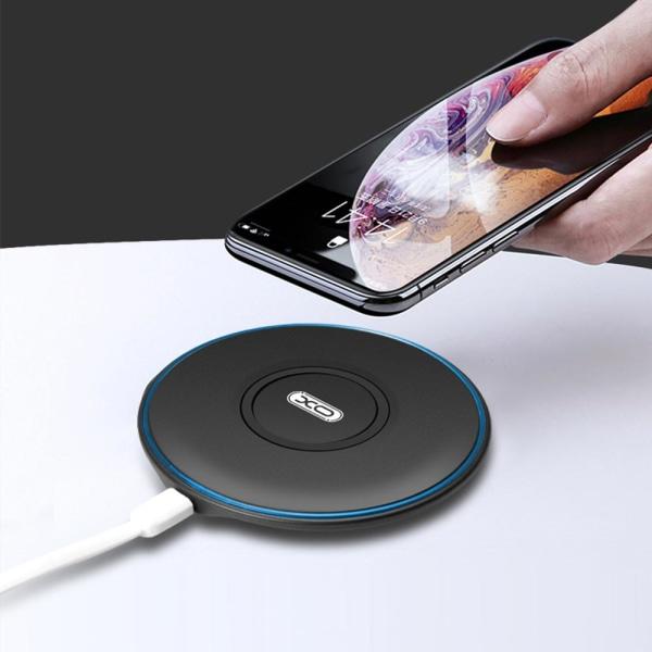 XO™ Trådlös Laddare QI iPhone/Samsung/LG m.fl. Svart