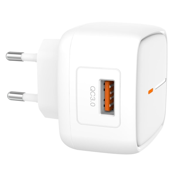 XO™ Väggladdare Quick Charge 3.0 till iPhone & Android 18W Vit