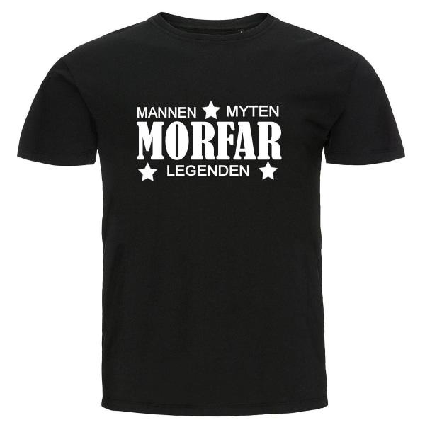 T-shirt - Morfar - Mannen, myten, legenden Storlek L