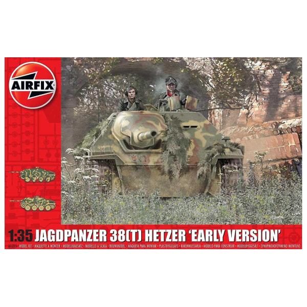 "Airfix JagdPanzer 38T Hetzer ""Early Version"" 1:35 Modellbyggsats"
