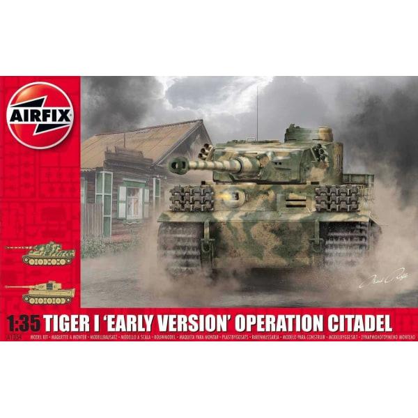 Airfix Tiger1 Early Version Operation Citadel 1:35 Modellbyggsat