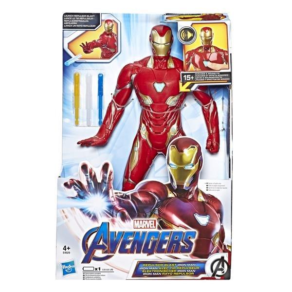 Avengers Iron Man Deluxe Figur med ljud