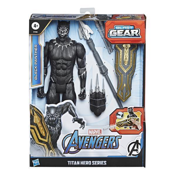 Avengers Titan Hero Blast Gear Black Panther E7388