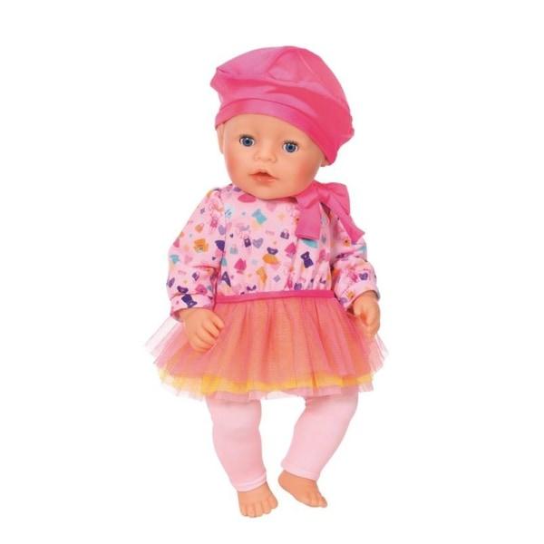 BABY born Fashion Outfit med Rosa rosett