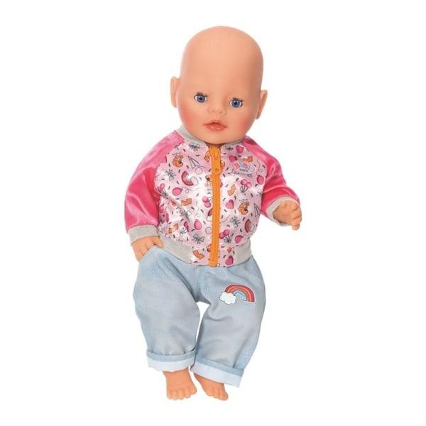 BABY born Jacka och byxa Regnbåge