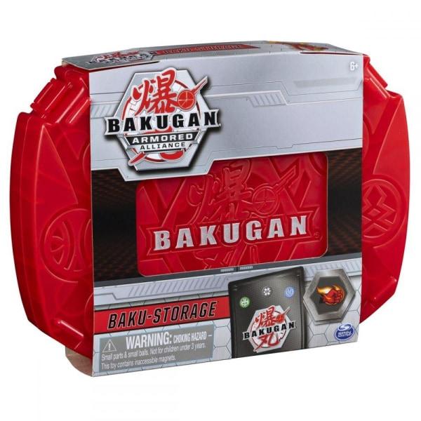 Bakugan Baku-Storage Samlarlåda Röd