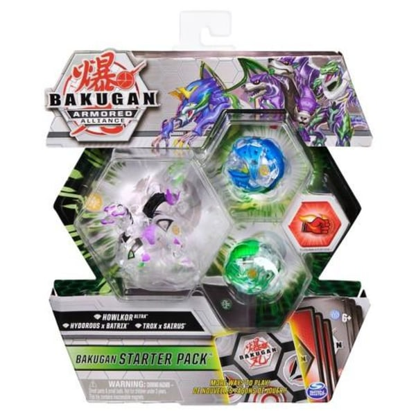 Bakugan Starter Pack S2 Diamond Howklor