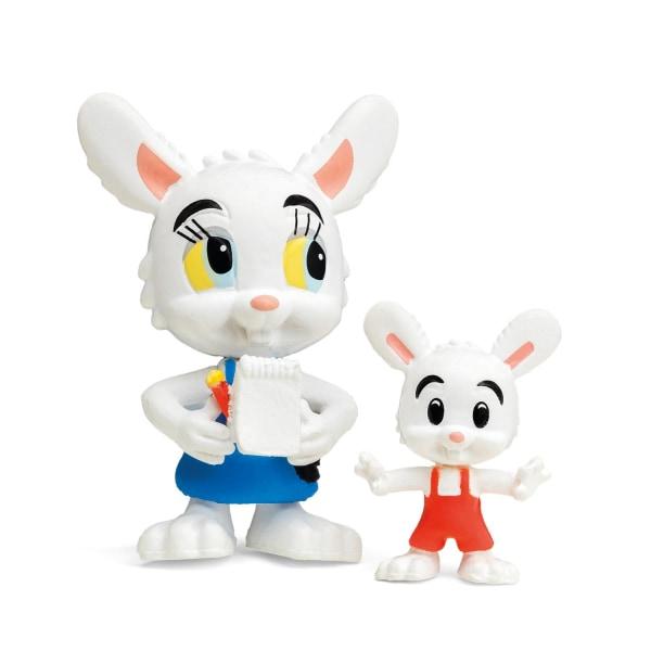 Bamse Figurset Nina Kanin & Minihopp