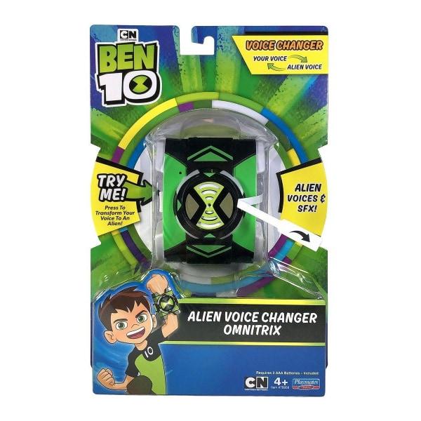 Ben 10 Alien Voice Changer Omnitrix