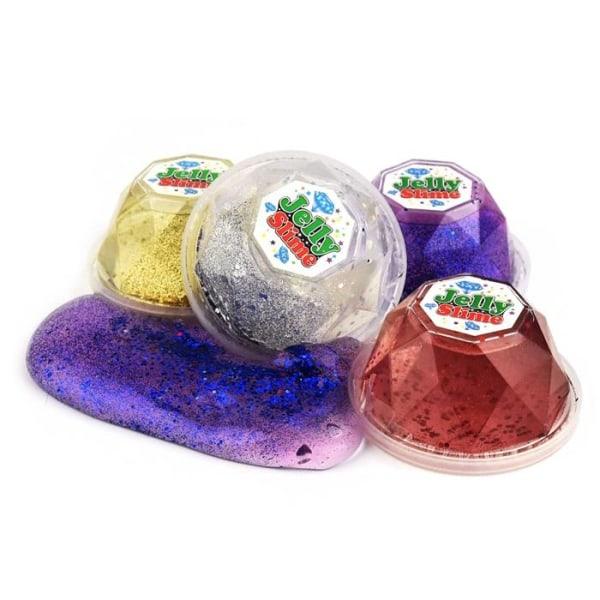 Jelly Slime Glitter Lila Lila