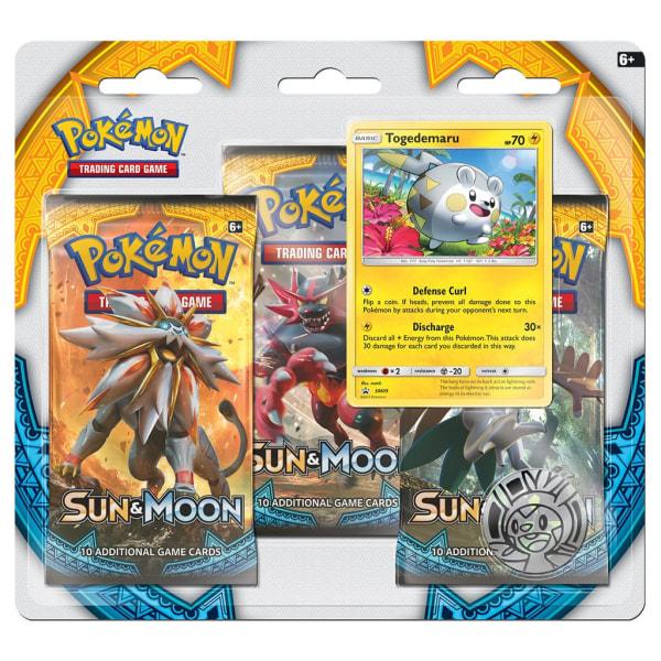 Pokemon 3-pack Sun & Moon Togedemaru