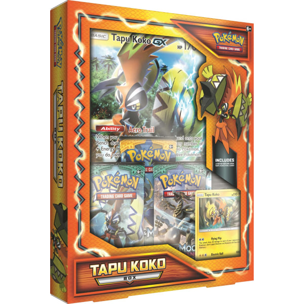 Pokemon Tapu Koko Box 80283