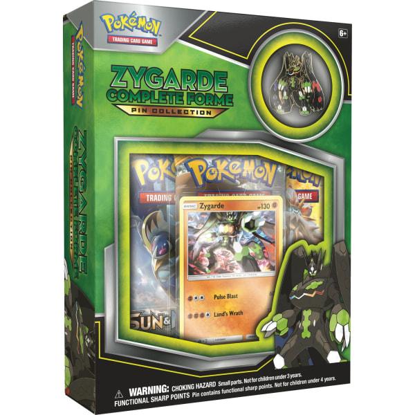 Pokemon Zygarde Pin Collection Box