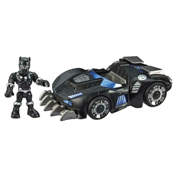 Super Hero Adventures Black Panther med fordon