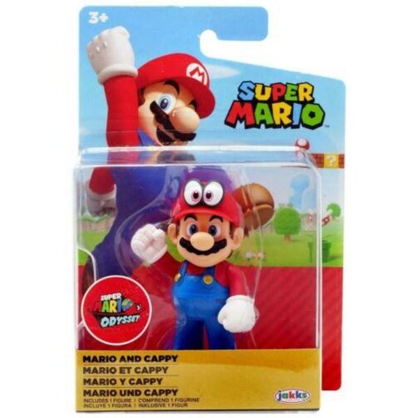 Super Mario Figur 5cm Mario and Cappy 40108
