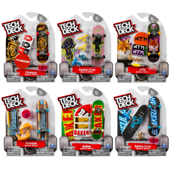 Tech Deck Fingerboard 1-pack 96mm  MultiColor