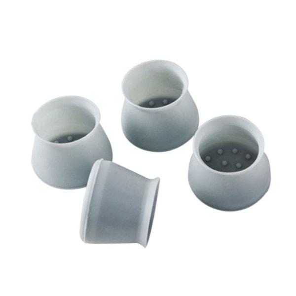 4st / set bordsstol ben silikon keps pad möbler bordsfötter