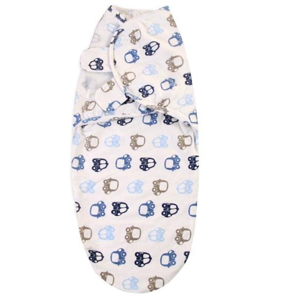 62 * 28CM Nyfödd baby lindning filt bomull mjuk filt