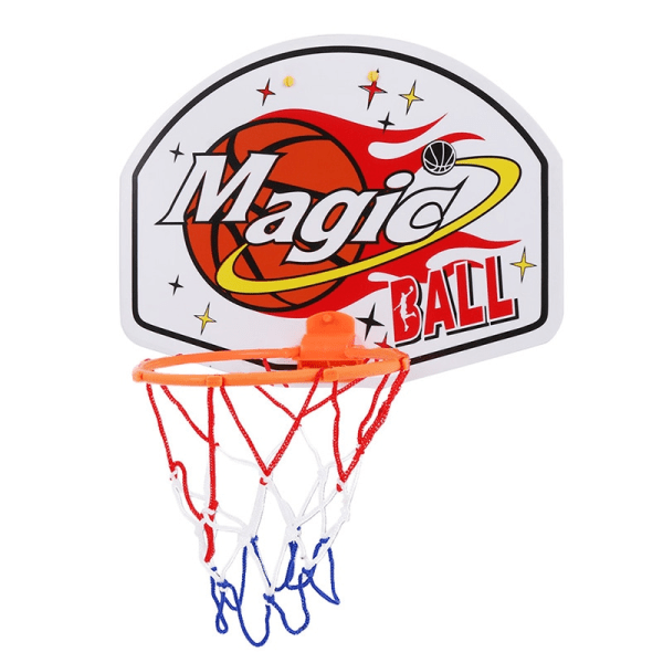 Adjustable Indoor Hanging Basketball Backboard Rim c