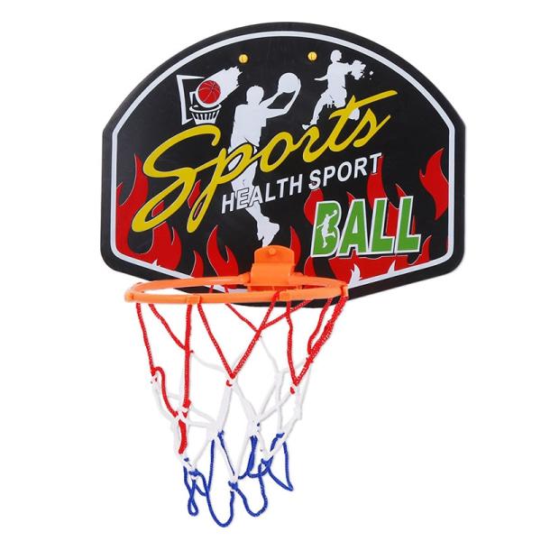 Adjustable Indoor Hanging Basketball Backboard Rim d